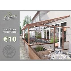 Darčeková poukážka € 10