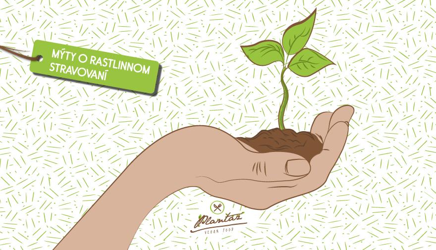 Rastlinná strava - mýty