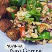 NASI GORENG #novinka #LetnaPonuka #dnesjem #NasiGoreng #indonesia #plantbased #friedrice #PlantazBistro #MestoMartin